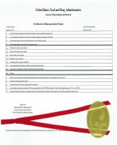 certificate of pharmaceutical product apostille
