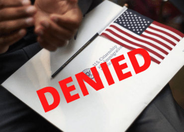 Почему отказывают в американском гражданстве?