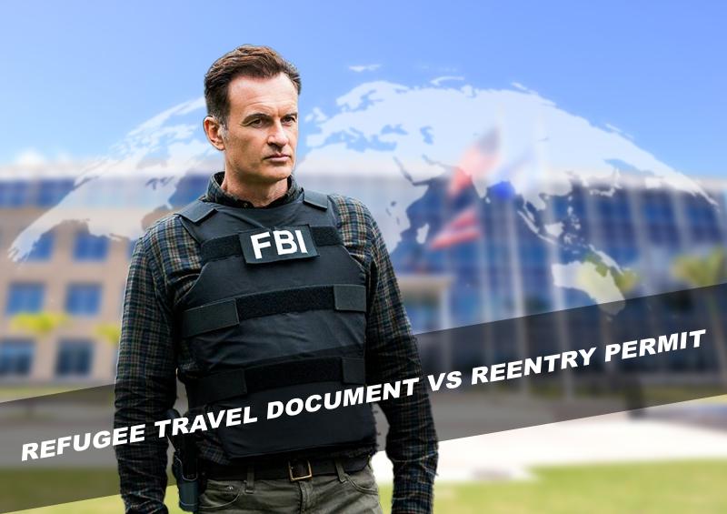 Refugee travel document VS Reentry permit